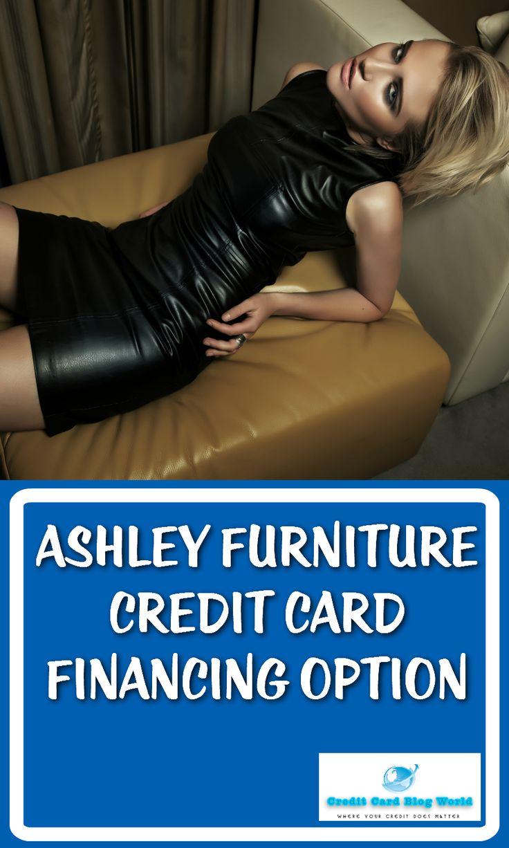 Ashley furniture credit card financing option credit