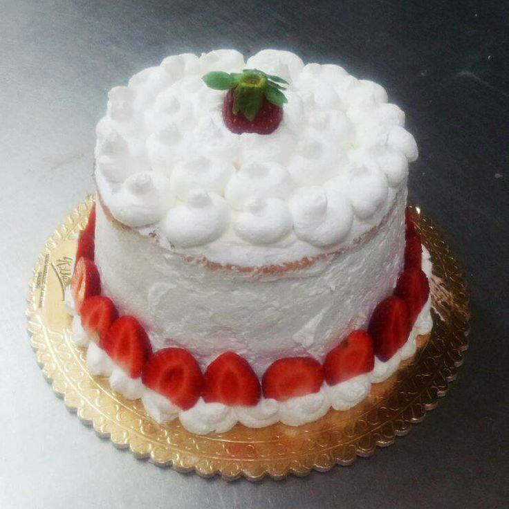 #torta #fragole e #panna