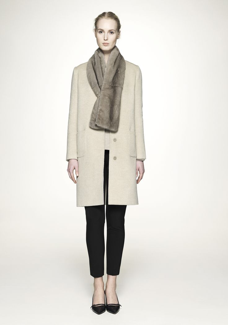 ELISE GUG, AW14 (Fur delivered in association with Kopenhagen Fur)