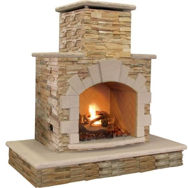 How To Build A Large Outdoor Fireplace