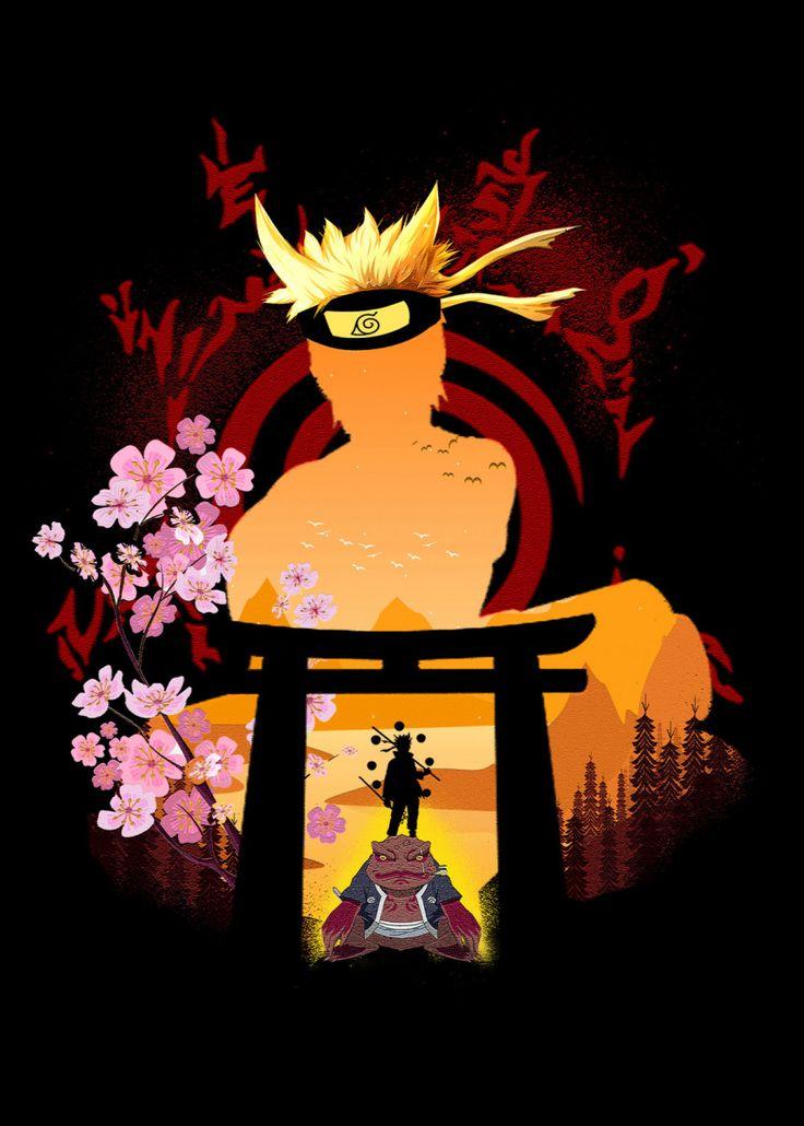 Naruto anime manga poster print metal posters