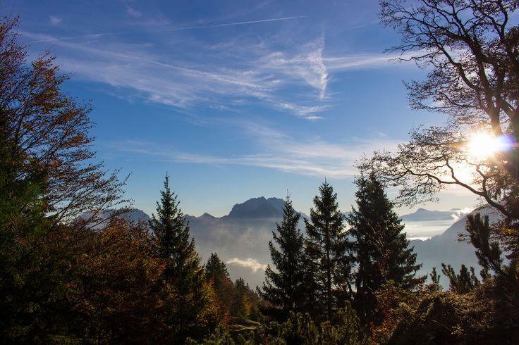 The Nature of Photographs: Mountain Morning Panorama.