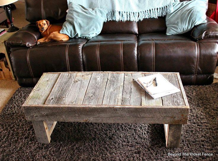 Barn Wood Coffee Table and