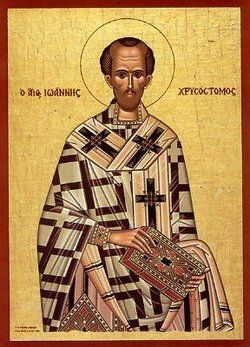"""John Chrysostom, 344-407 A.D., preached: """"The Jews ... are worse than wild beasts ... lower than the vilest animals. Debauchery and drunkenness had brought them to the level of the lusty goat and the pig. They know only ... to satisfy their stomachs, to get drunk, to kill and beat each other up ... I hate the Jews ... I hate the Synagogue ... it is the duty of all Christians to hate the Jews."""""""