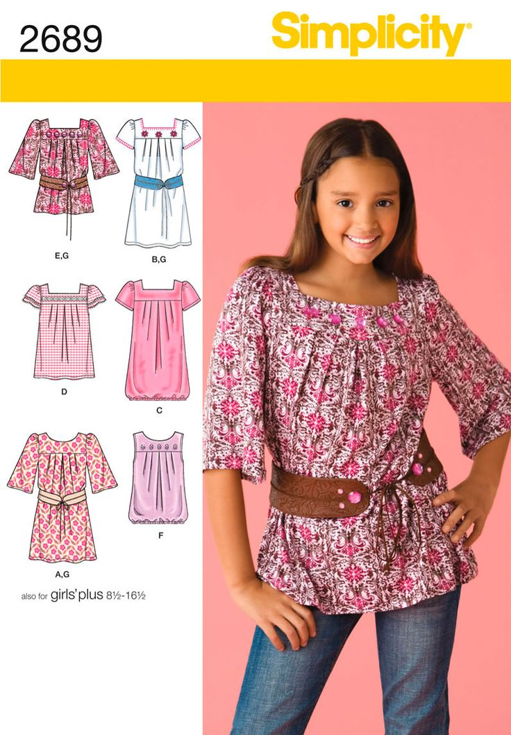 67 best Simplicity images on Pinterest | Simplicity sewing patterns ...