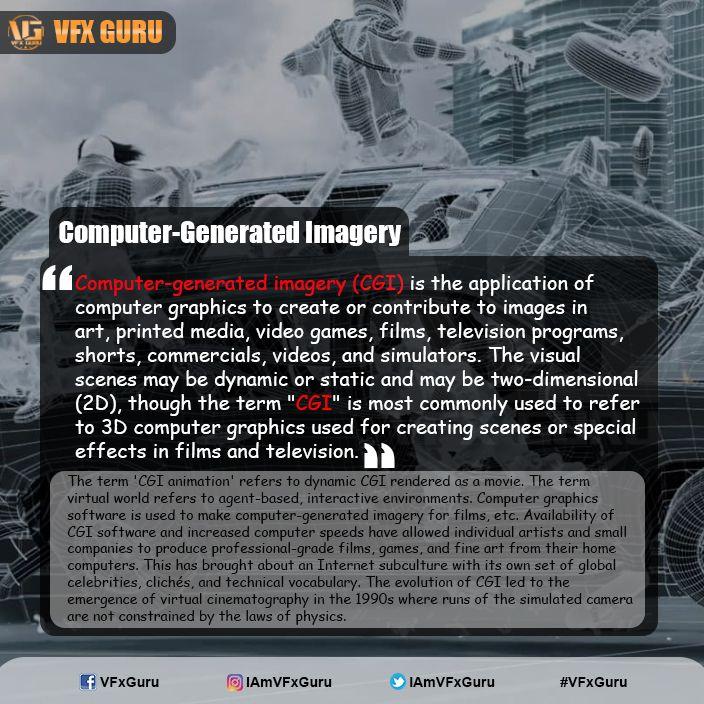 #Computer-#generated #imagery (#CGI)  #VFx #VisualEffects #GreenScreen #Movies #VFxGuru