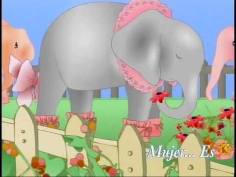 Rosa Caramelo. Es la historia de una manada de elefantes y elefantas en la que unas y otros viven de manera separada y tienen actividades diferentes, incluso el color de ellas y ellos es distinto. Las elefantas están encerradas en un jardín vallado, comiendo unas flores que no les gustan porque saben mal y llevan zapatitos, baberos, cuellos y lazos también de color rosa para volverse más rosas.