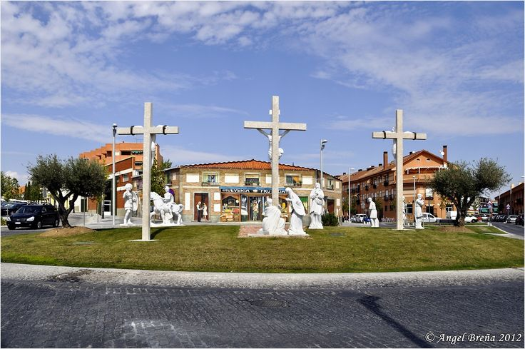 Rotonda del Calvario (Navalcarnero, Madrid)