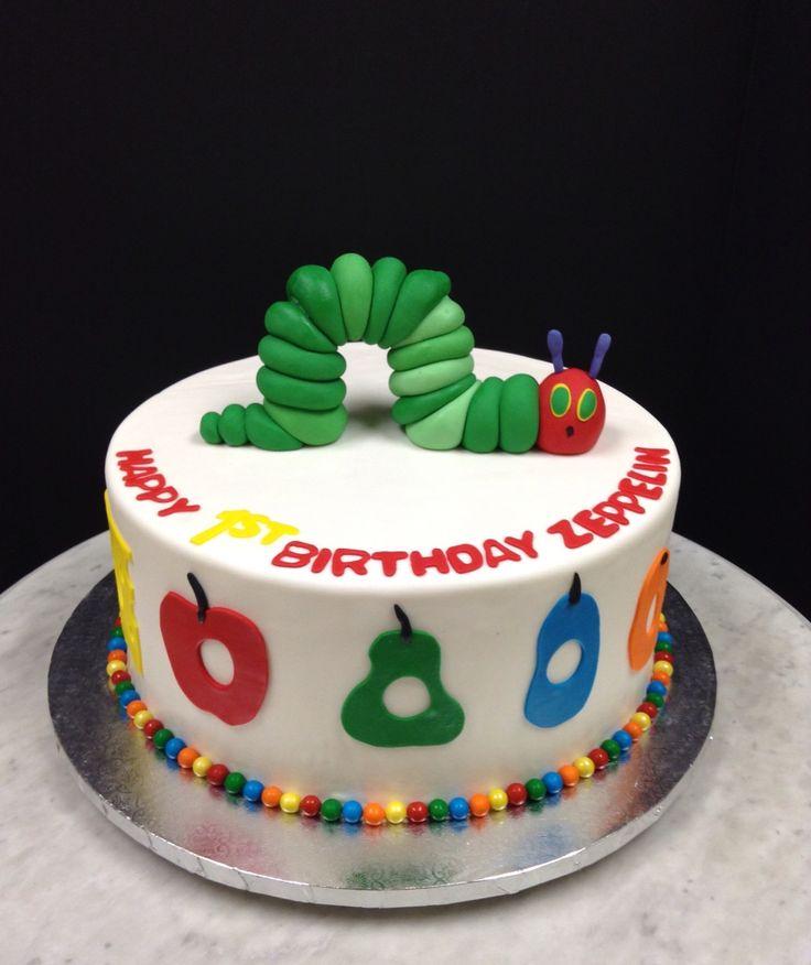 Hungry Caterpillar cake!
