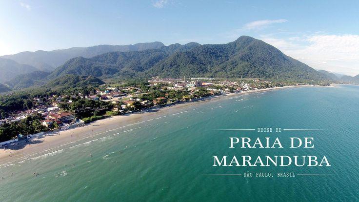 Praia de Maranduba [HD Drone], SP Brasil