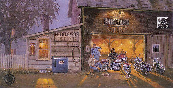 "Harley Davidson Red Deer >> Dave Barnhouse's ""Kink of the Road II"" | Dave Barnhouse ..."