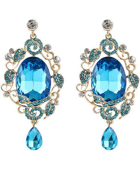 Gold Drop Diamond Earrings 7.48