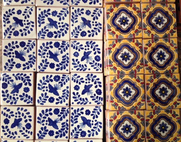 Azulejo tradicional dolorenses 100 artesanal doloreshidalg camsa azulejos artesanales - Azulejos artesanales ...
