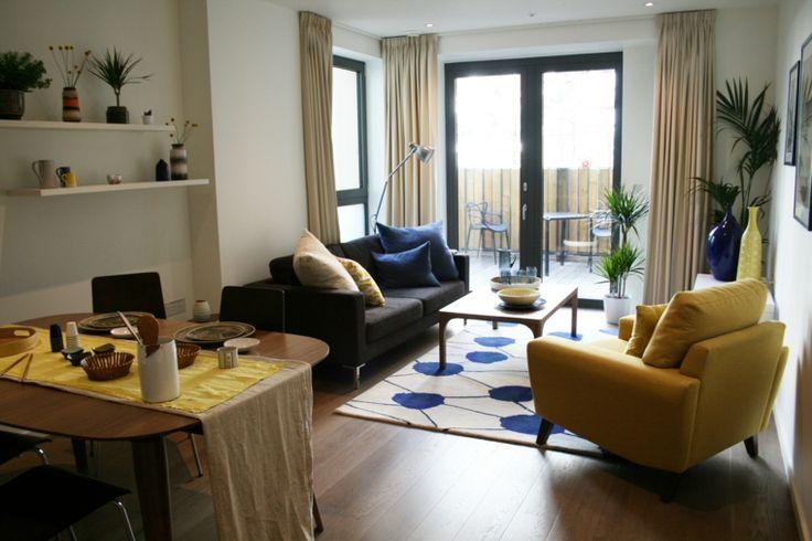 Resultado de imagen de amueblar salon comedor 40 m2 for Amueblar salon rectangular