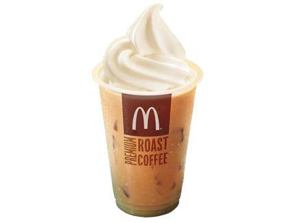 iced coffee float mcdonalds