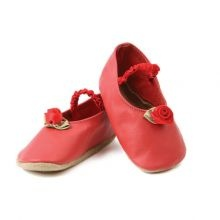 Μαλακά παπουτσάκια 'Red roses'