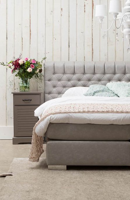 ... Slaapkamers op Pinterest - Grijze slaapkamers, Wit dekbed slaapkamer