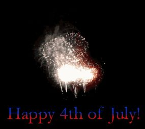 Happy 4th Of July Fireworks Animation at Best Animations #4thofjuly #fireworks #animated #gif