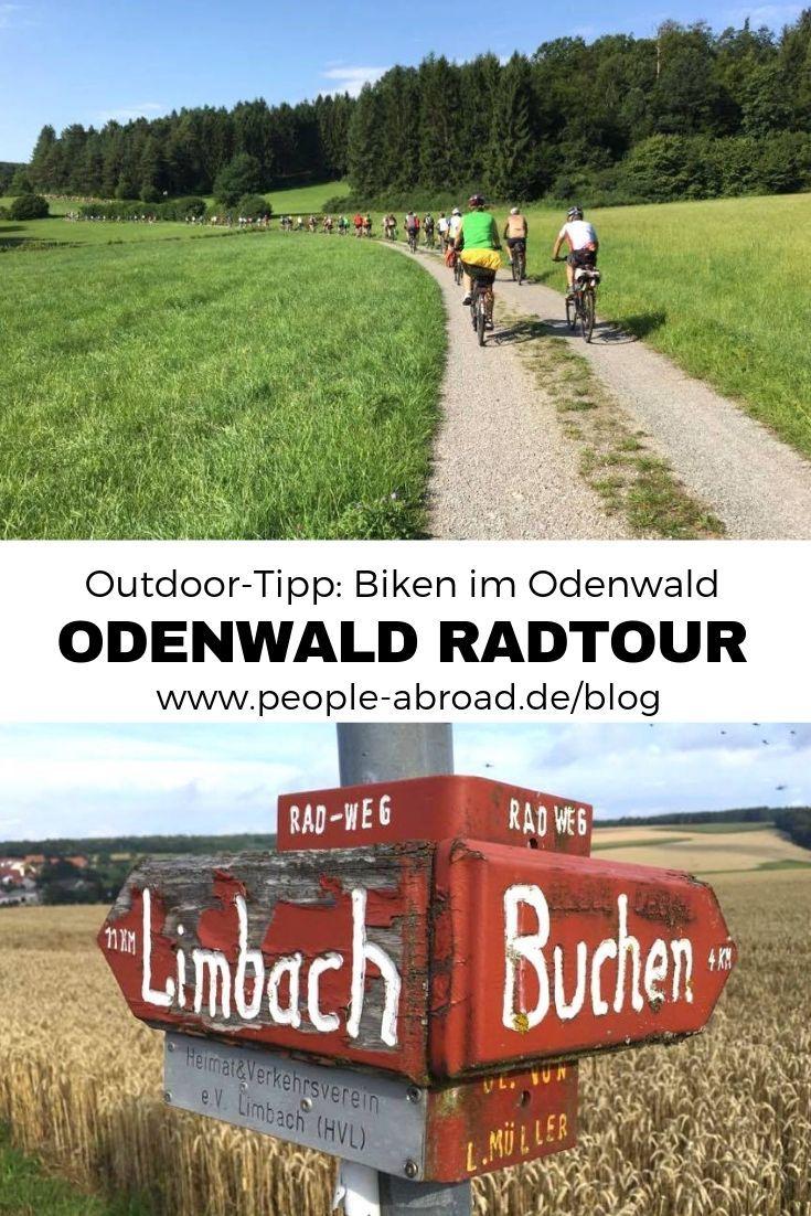 Outdoor Tipp Meine Radtour Im Odenwald Radtour