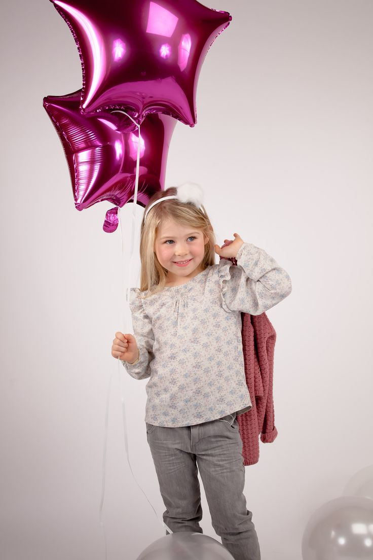 Collection CdeC AW 2014 - Peau d'âne. Blouse Drago Eglantine Blush, Jean Denim Vintage Grey #cdec #lookbook #kidsfashion