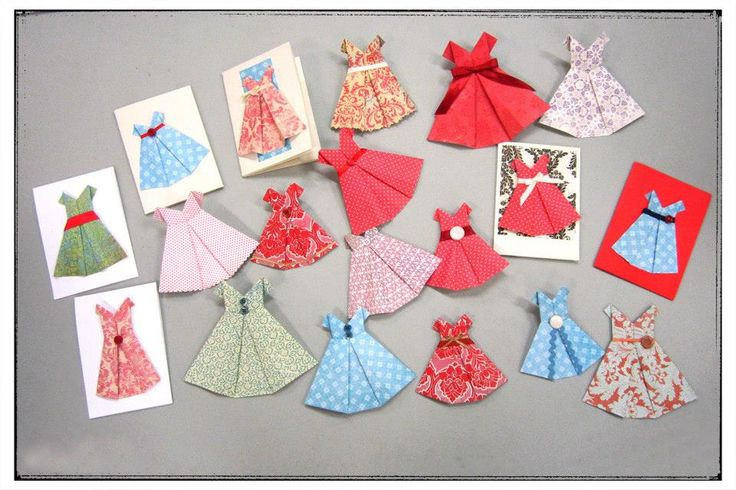 Origami Dresses | Community Craft Group in Christchurch, New Zealand.