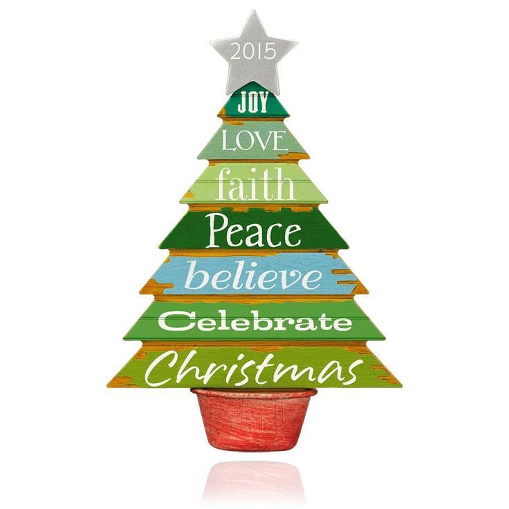 223 best Hallmark images on Pinterest  Christmas ornaments