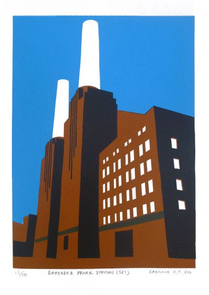 Caroline Koo - Battersea Power Station - Sky