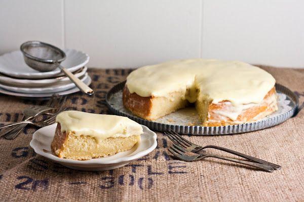 Lemon and Almond Streamliner Cake | sweet | Pinterest
