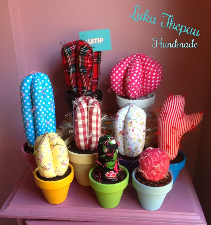 fabric cactus / cactus de tela // LUKA THEPAU