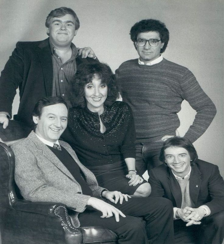 SCTV cast 1982 clockwise from top left; John Candy, Eugene Levy, Martin Short, Andrea Martin and Dave Thomas. SCTV (Second City Television) was a Canadian television sketch comedy show offshoot from Toronto's Second City troupe that ran between 1976 and 1984. .One of the most brilliant comedy shows ever created, the ensemble cast featured John Candy, Robin Duke, Joe Flaherty, Eugene Levy,  Andrea Martin, Rick Moranis, Catherine O'Hara, Harold Ramis, Tony Rosato, Martin Short and Dave Thomas.