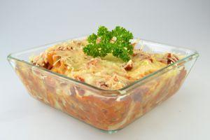 Nudel-Hackfleisch-Auflauf | Cateringgerichte für Kinder
