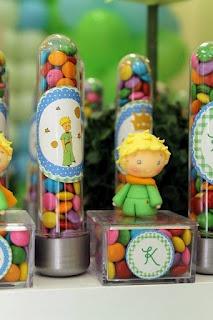 PK Sonhos e Festas: Festa do Pequeno Príncipe para um Grande Príncipe