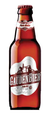 Cerveja GaudenBier Pale Ale, estilo Belgian Pale Ale, produzida por Gaudenbier Cervejaria, Brasil. 4.7% ABV de álcool.