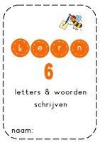 Kern 6 - Schrijven van de woorden