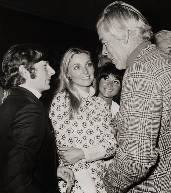 Roman Polanski Sharon Tate Michelle Triola And Lee Marvin At