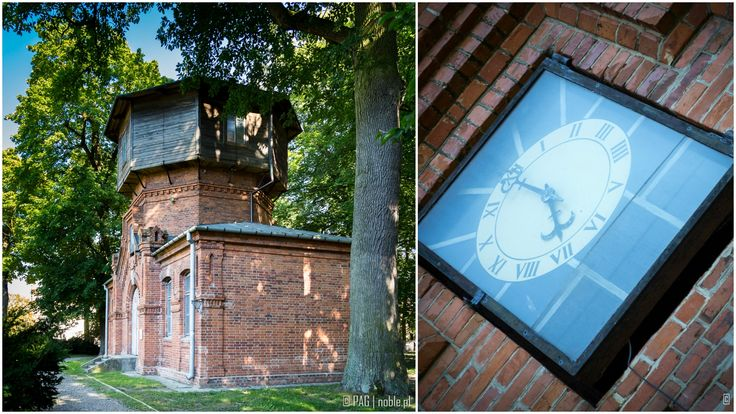 The 19th century Water Tower in Czartoryski's Palace and Park complex in Pulawy, Poland