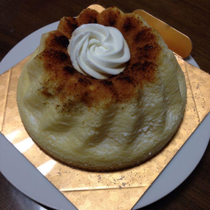 ガスパール ザンザンのプリンブリュレのチーズケーキ