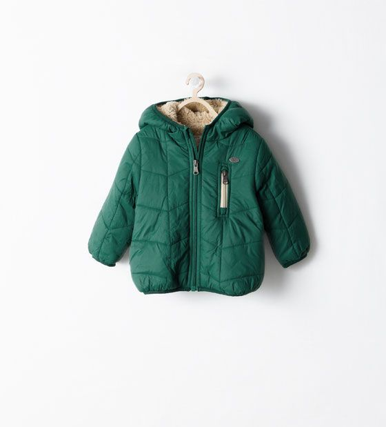 ZARA - KIDS - FLEECE-LINED JACKET -25,95 €