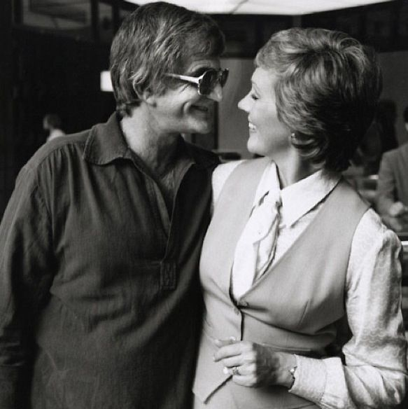 Julie Andrews & her husband Blake Edwards