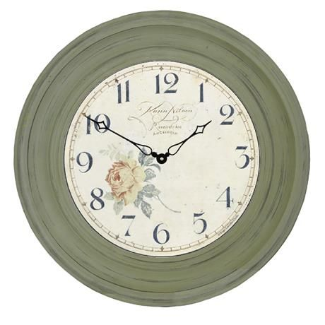 Traditionnellement Encadrée Ange Dial Clock - 50cm