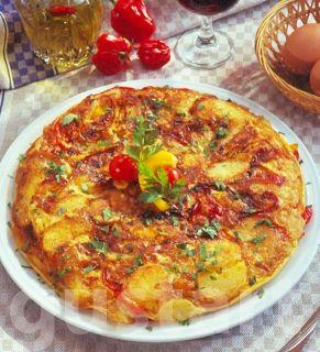 Lajos Mari konyhája - Krumplitortilla