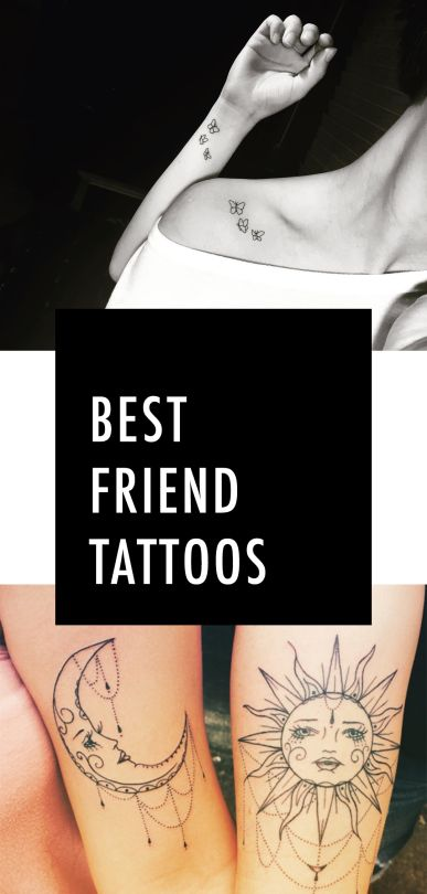 Creative Small Tattoos You'll Want to Get With Your Best Friend