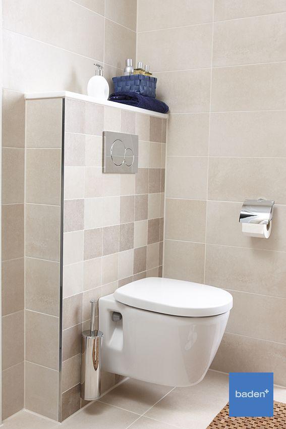 De Nano badkamer van Bruynzeel is een supercomplete badkamer, die past bij elk gezin. Met een zwevend toilet met Geberit inbouwreservoir.