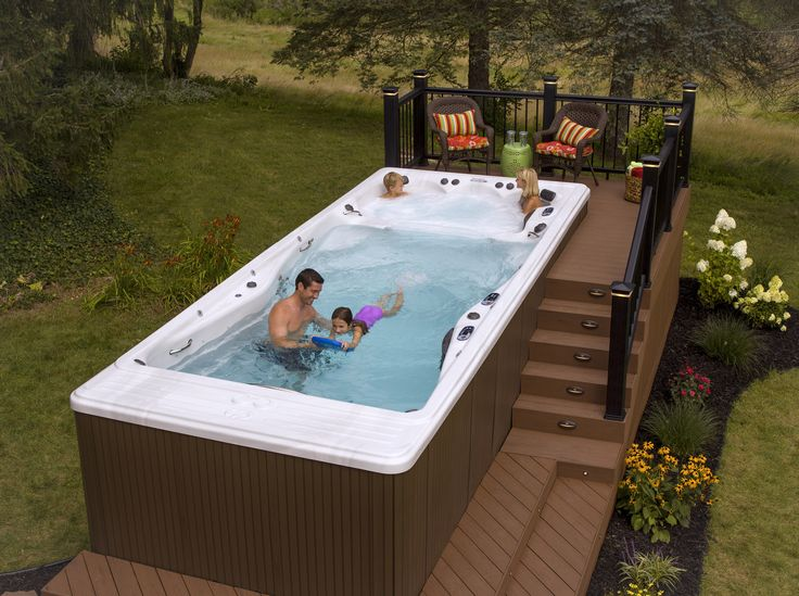 The 25 best spa jacuzzi ideas on pinterest jacuzzi design spa exterieur a - Jacuzzi 2 places exterieur ...