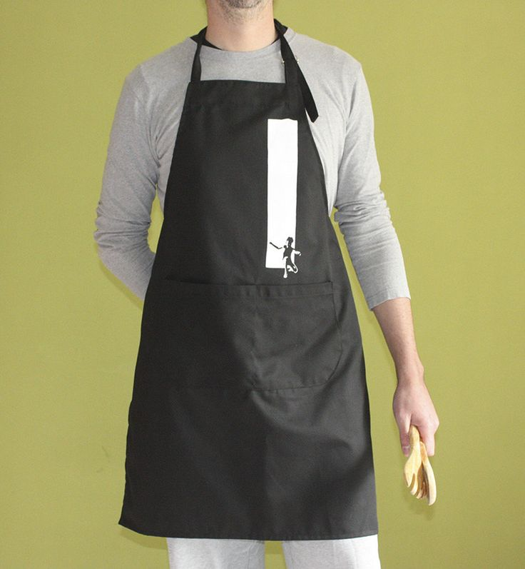 Out of The Box Apron Escape Apron with pockets by ClothMothTshirts