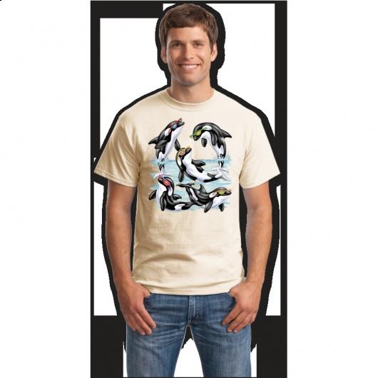 Tricoul cu delfini jucausi