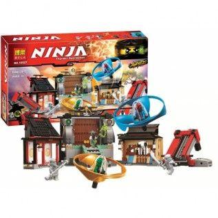 Конструктор Bela Ninja 10527 Боевая площадка для аэроджитцу