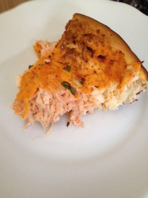 Receita do dia: Torta protéica de frango (sem glúten!)