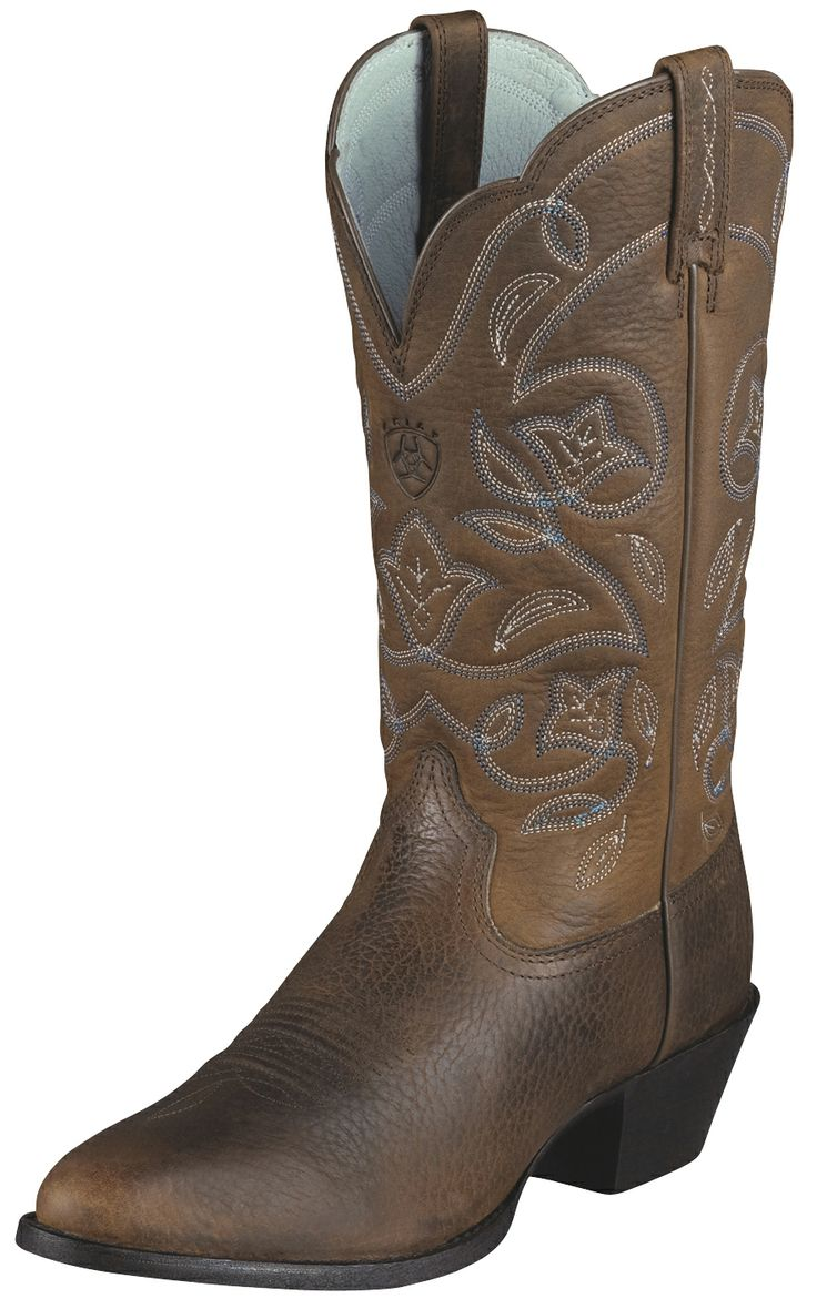"""Womens Heritage Western R Toe 12"""" Cowgirl Boots ..."""