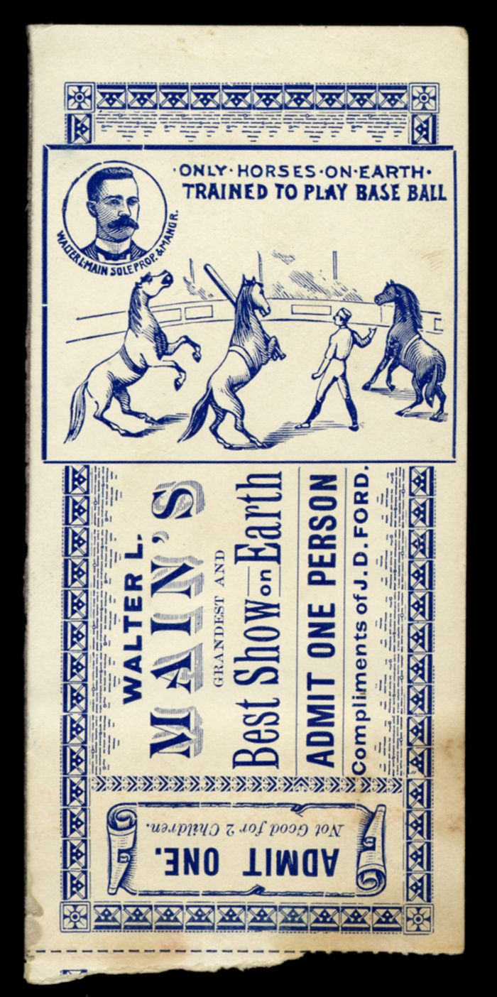 circus ticket - Google Search
